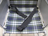 車椅子の座面洗浄後