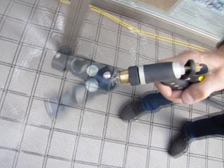 首振りノズルユニット 水道管装着タイプ